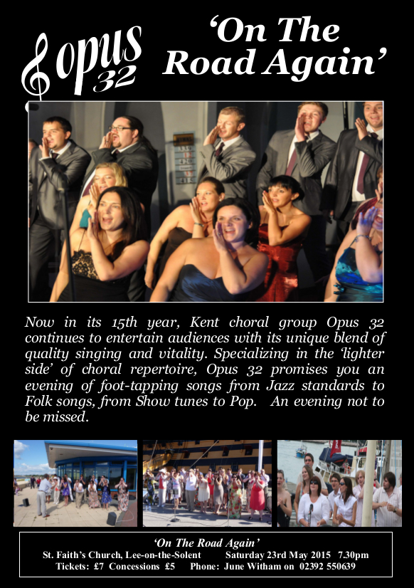 Opus tour flyer 2015