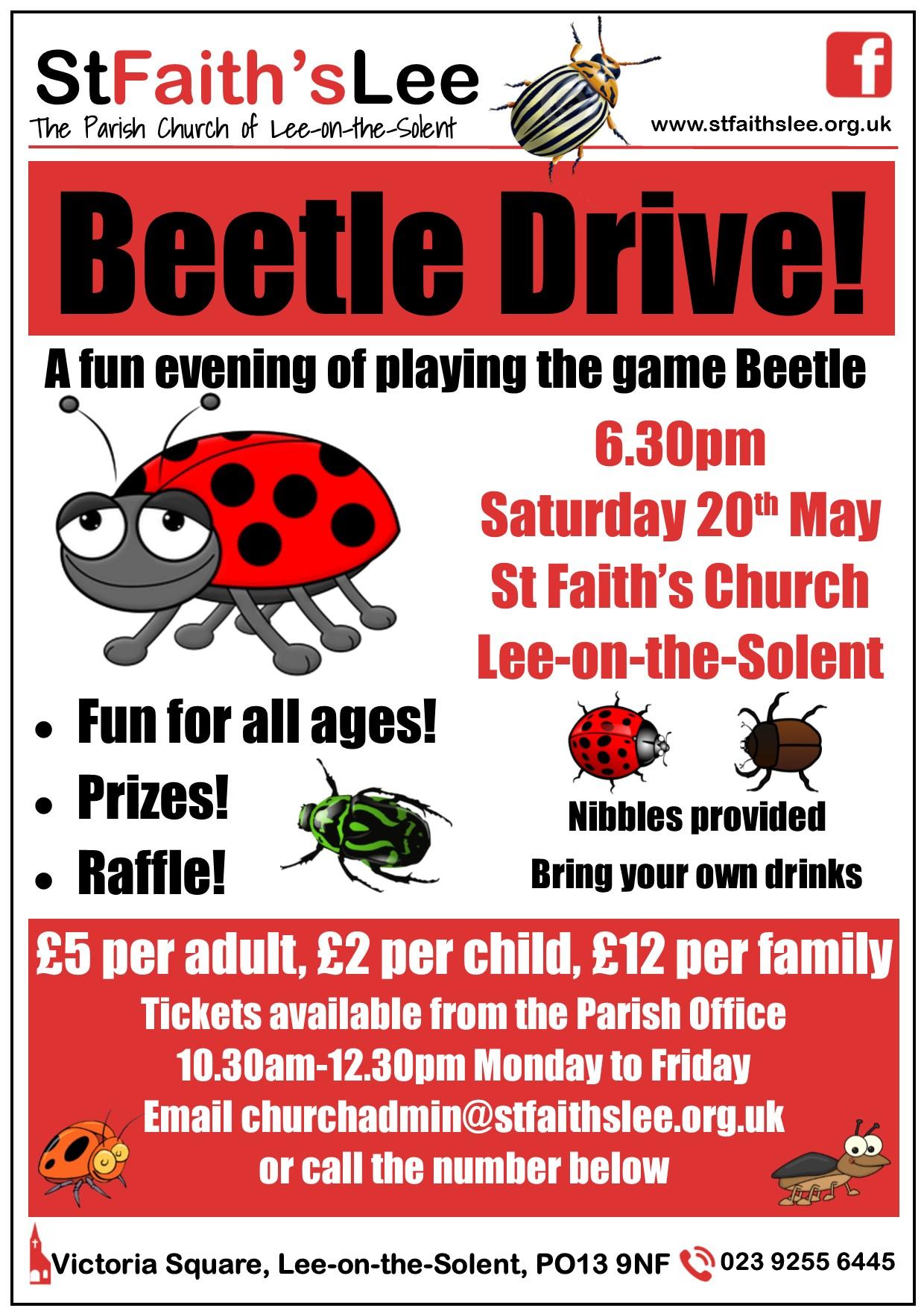 A Beetle Drive Beetle Drive – St Fa...